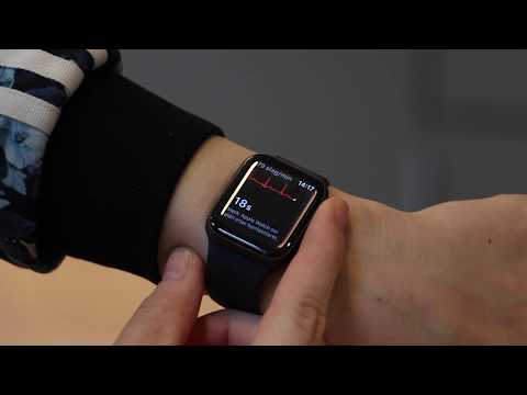 Slik tar du en EKG på Apple Watch