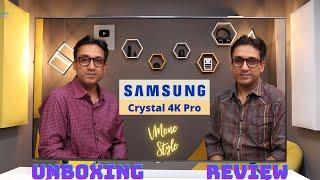 Samsung Crystal 4K Pro TV ⚡ Un…