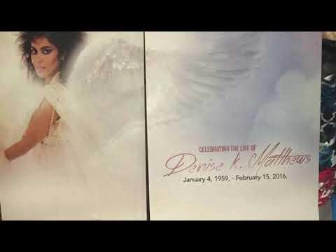 "Denise ""Vanity"" Matthews Funeral | Prince Protege | Passed Away 2/15/16"