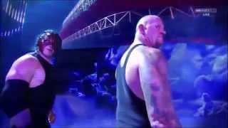 WWE RAW The Undertaker Demon Kane Return and confront The Wyatt Family Nov 9 2015