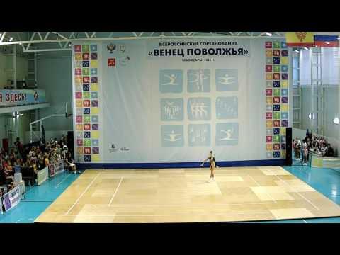 Всероссийские соревнования Венец Поволжья по спортивной аэробике