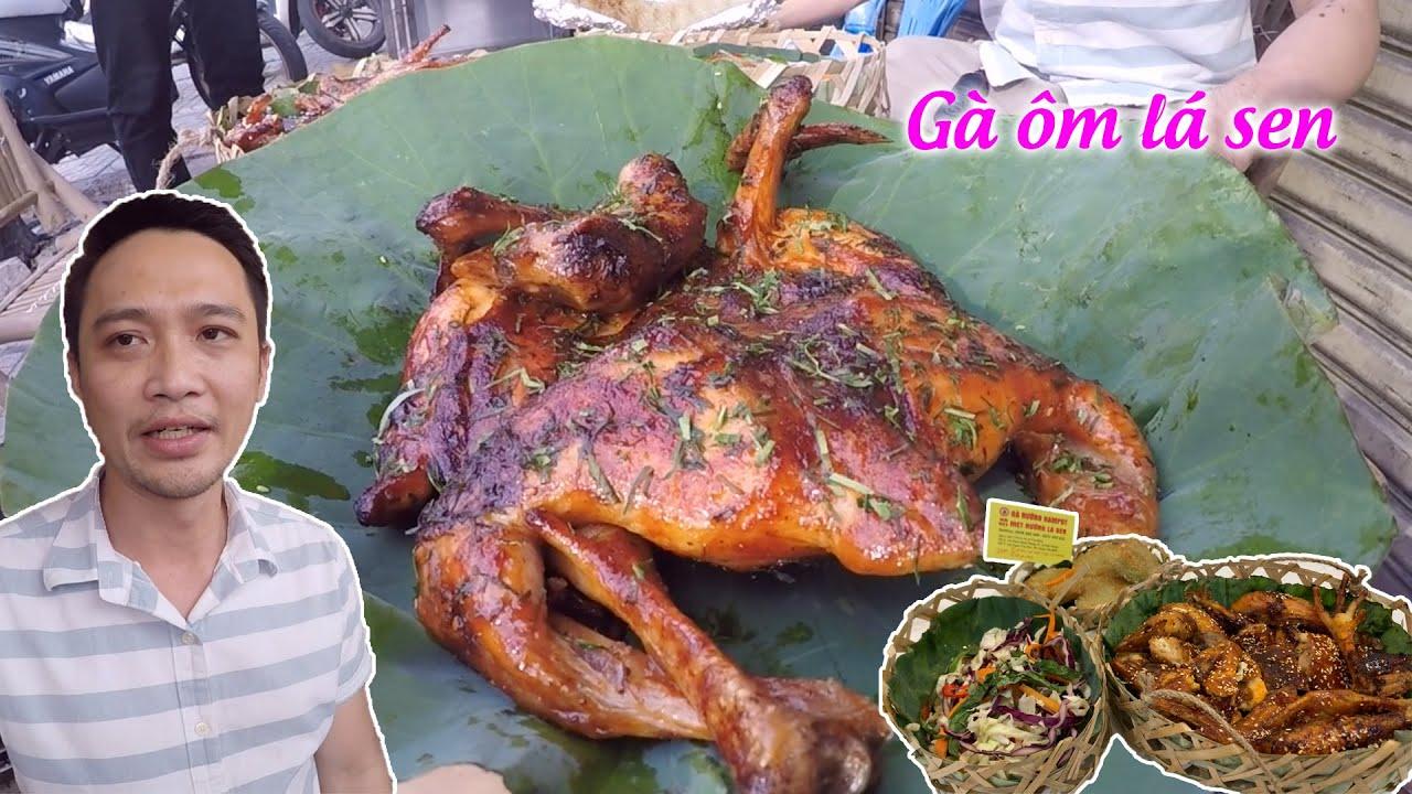 Gà nướng ẵm lá sen Kampot có gì mà gây sốt khi bán 300 con/ngày