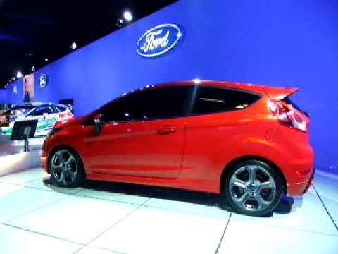 Motor Show Bologna 2011 Ford Fiesta St Concept Youtube