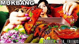 -FRIED BIRRIA TACOS-  CRISPY CRUNCHY JUICY TACOS + CHILI OIL + BIRRIA SOUP | EATING SHOW | MUKBANG