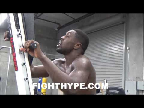 CAMP LIFE WITH ANDRE BERTO: BEHIND-THE-SCENES LOOK AT BERTO HAVING FUN WHILE PUTTING IN NONSTOP WORK
