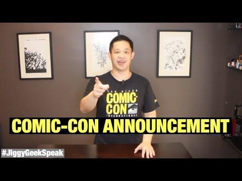 JIGGY'S COMIC CON ANNOUNCEMENT | GEEK SPEAK EPISODE 33 | JIGGY CRUZ