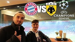 VIP STADIONVLOG AUS DER 150.000 EURO LOGE | FC Bayern - AEK Athen