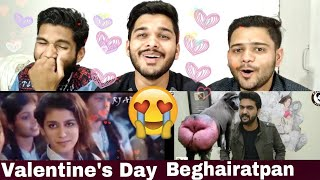 M Bros Reaction On Valentine's Day Beghairatpan By Awesome Speaks.