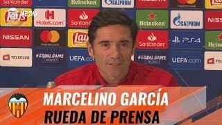 RUEDA DE PRENSA MARCELINO PREPARTIDO YOUNG BOYS - VALENCIA CF
