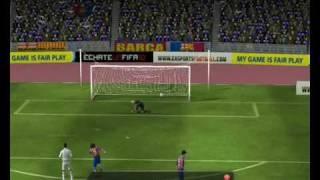 Fifa Manager 2010 - Barça vs Real Madrid (Primera parte)
