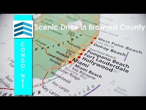 Scenic Drive Down A1A Fort Lauderdale and Broward County