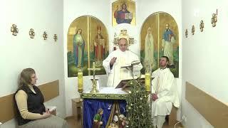 """Євангелія дня і проповідь о. Сергій Серебровський  24 січня """"Господь вибирає кожного ...."""""""