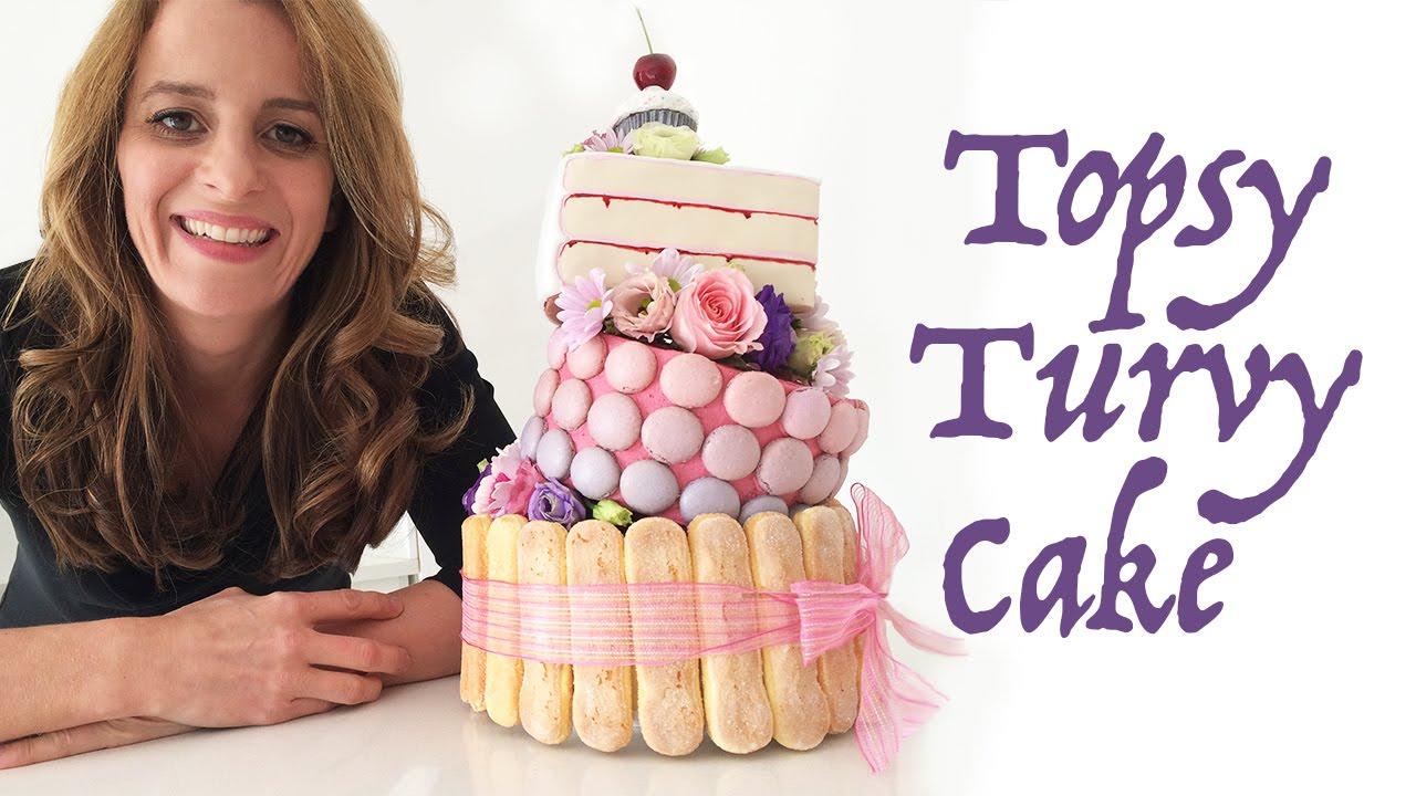 Topsy Turvy Cake Tutorial Youtube