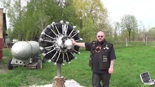 теория ДВС: Авиационный двигатель АШ-62 (просто видео)