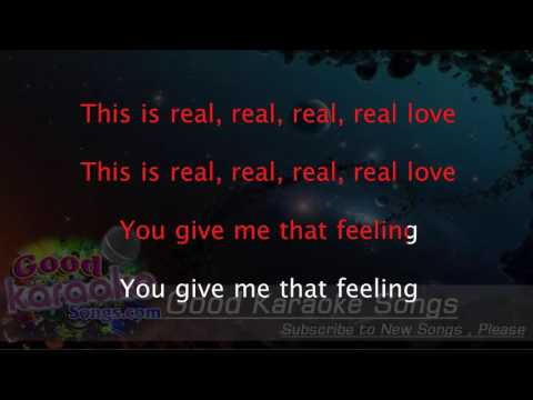 Real Love -  Clean Bandit (Lyrics Karaoke) [ goodkaraokesongs.com ]