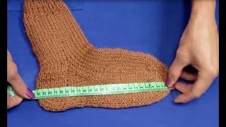 Учимся вязать носки. Пошаговое видео для начинающих. Часть1. (Learn to Knit Socks part 1)