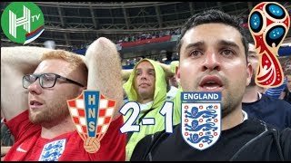 Anguish, heartbreak but an overall sense of pride | Croatia v England | World Cup Daily Vlog Day 22