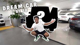 I GOT MY DREAM CAR! THANK YOU GUYS SO MUCH!