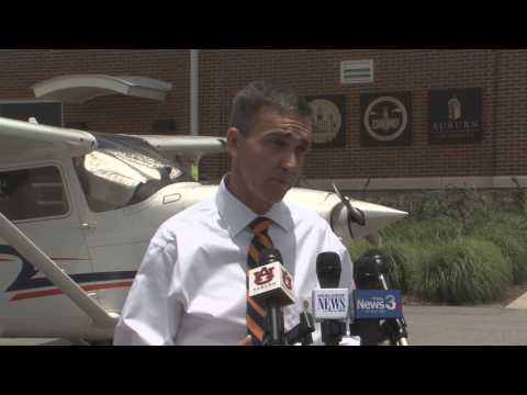New Auburn Aviation Center Press Conference