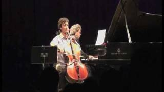 Antonio Lysy & Pascal Rogé live in NYC at Symphony Space on Sept. 2009- part 1B out of 6.mov