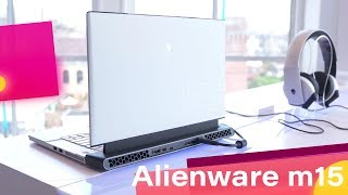 Alienware m15 Gets Bold, Mature Look, RTX Graphics and More