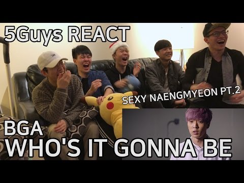 [K-POOPERS] BgA - Who's It Gonna Be (5Guys MV REACT)
