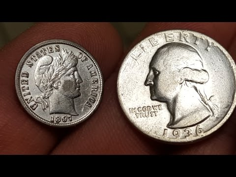 SILVER QUARTER AT LAST, 2 CENT PIECE: MINELAB CTX 3030 DETECTING