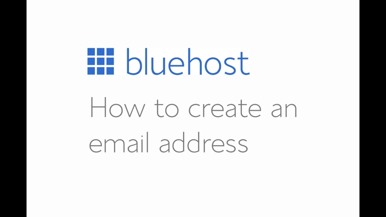 how to create webmail account