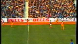 Rangers v Motherwell 22 Oct 1983
