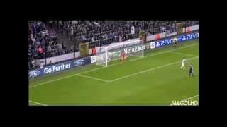 ELISEU AMAZING GOAL VS ANDERLECHT | CHAMPIONS LEAGUE 2012-2013 | HD