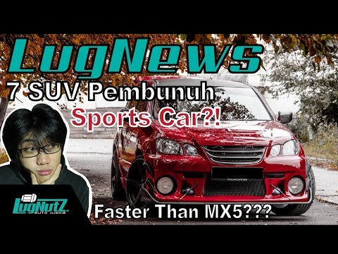 7 SUV Sleeper PENAKLUK Sports Car! - LUGNEWS | LUGNUTZ Indonesia