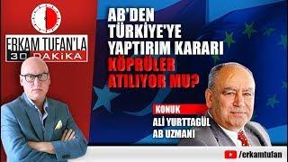 AB'DEN TÜRKİYE'YE YAPTIRIM KARARI