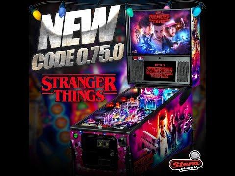 Stern Pinball's Stranger Things Pro! (Version 75.0)