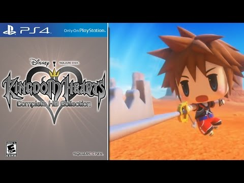 Kingdom Hearts 1.5, 2.5 and 2.8 Bundle, Unchained X Multiplayer, Sora in Final Fantasy!