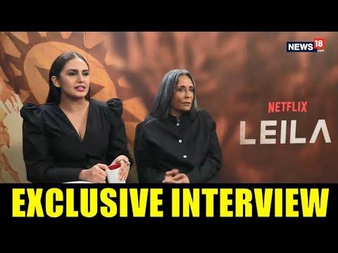 Deepa Mehta & Huma Qureshi interview with Rajeev Masand I Leila I Netflix