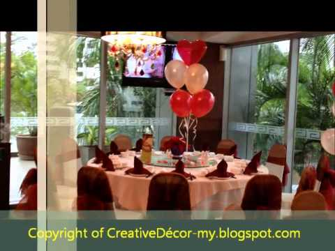 Creativedecor Chinese Wedding Reception Balloon Decoration