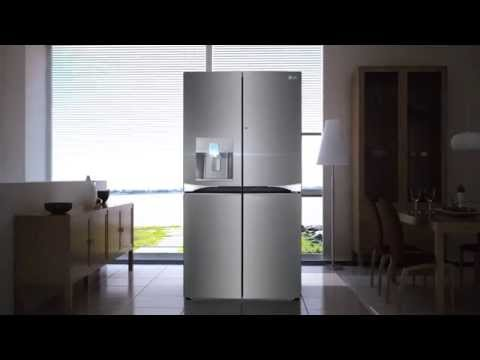 LG's Water Purifying Refrigerator with 3-Tier Filtration System
