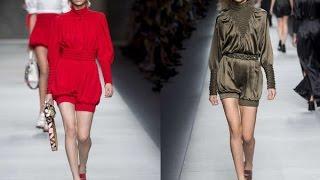 Женские модные шорты весна лето 2016