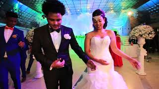 Fifi and Biniam wedding entrance (Best Eritrean Pentecost Wedding)