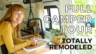 Camper Renovation Full Tour... Finally done!