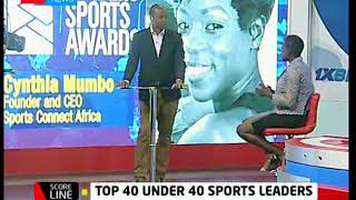 Cynthia Mumbo talks about Leaders Sports Awards   KTN News Scoreline