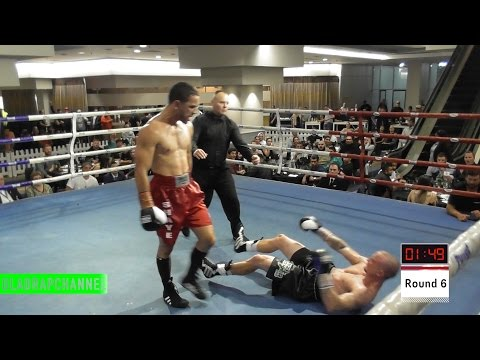 "Best Fight I've Seen - Shay ""Mr Business"" Brook vs Ray ""The Muss"" Musson - BRAWL! (Must Watch)"
