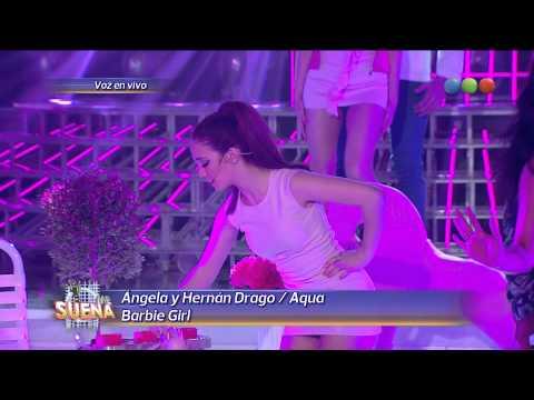 Ángela y Hernán Drago son Aqua - Tu Cara...