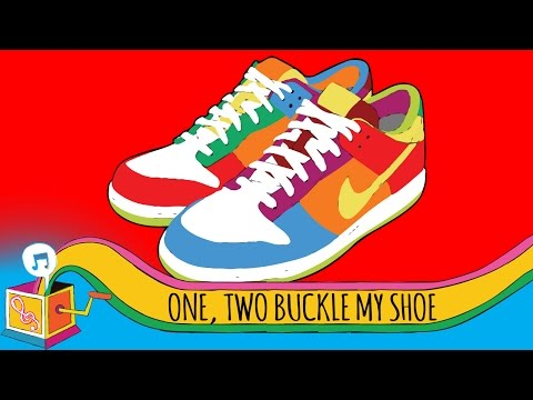 One, Two, Buckle My Shoe | Nursery Rhyme | Karaoke