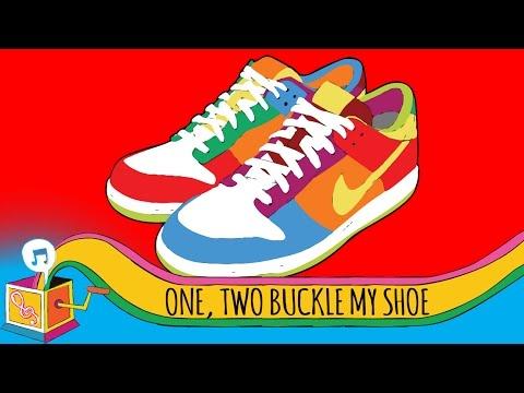 One, Two, Buckle My Shoe | Nursery Rhyme | Karaoke