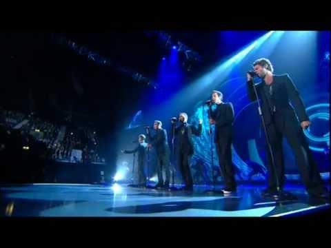 Take That - Love Love live @ National Movie Awards 2011