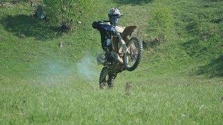 Ian first time riding a dirt bike
