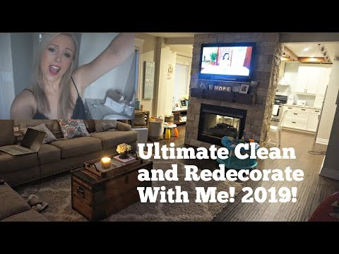 Epic Xmas Decor Take Down and Clean With Me! Dusting and Organizing!
