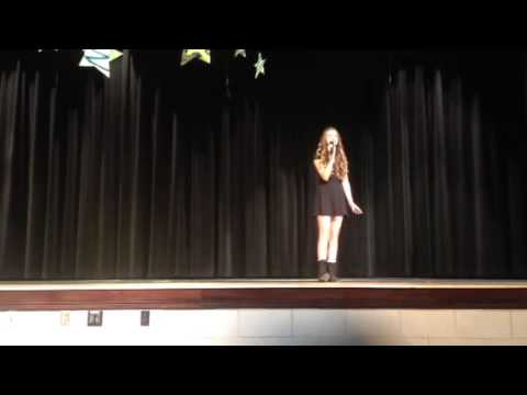 Wrecking Ball- Maine Endwell Middle School Variety Show 2014