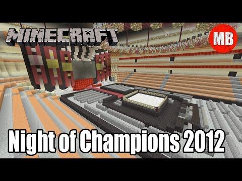 WWE Minecraft Arena   Night of Champions 2012!